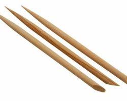 Palitos De Bambu -  P/ Unhas Manicure Pedicure  - 14cm - 50 pçs