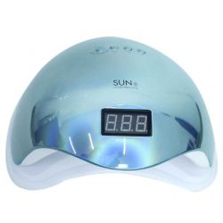 Cabine Holo Metalizada - Sun 5 - Uv / Led - Digital  - 48w - Azul