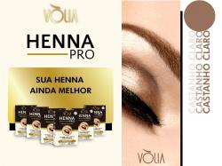 Vòlia Henna Pro - Castanho Claro