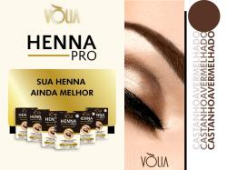 Vòlia Henna Pro - Castanho Avermelhado