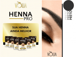 Vòlia Henna Pro - Preto