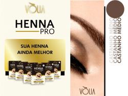 Vòlia Henna Pro - Castanho Medio