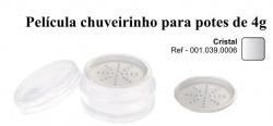 Batoque Peneirinha para Potinho 4g  - 1 unid