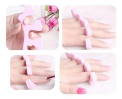 Separadores de Dedos Autêntica em Espuma - Par