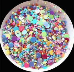 Glitter Flocado Para Encapsular Unhas - 3g - Randox Mix