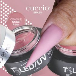 Cuccio Gel T3 Controlled Led/Uv 28g - Opaque  Nude Pink