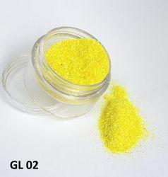 Glitter Ultrafino - 3g - GL02 - Amarelo