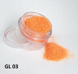 Glitter  Ultrafino - 3g - GL03 - Laranja