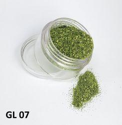 Glitter Ultrafino - 3g - GL07 - Verde Claro