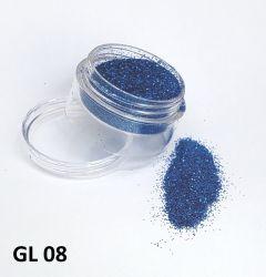 Glitter Ultrafino  - 3g - GL08 - Azul Royal