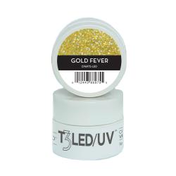 Cuccio Gel Sparkle com Glitter Led/Uv  7g - Gold Fever