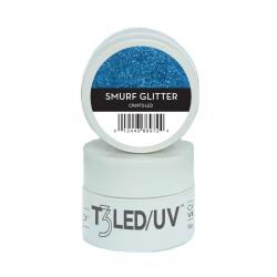 Cuccio Gel Sparkle com Glitter Led/Uv  7g - Smurf Glitter