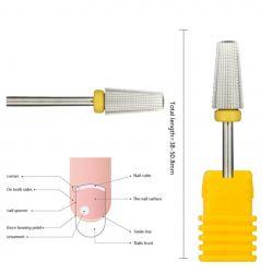 Broca de Tungstênio  - Cone para Remoção - TG15 - Amarela