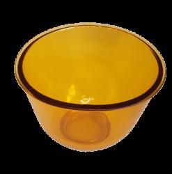Cubeta Maleável Média - 350 ml - Amarela