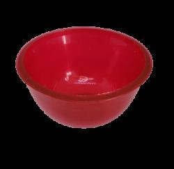 Cubeta Maleável Mini - 50 ml - Vermelha