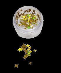 Estrela para Decoração de Unhas - ED01 - Dourada