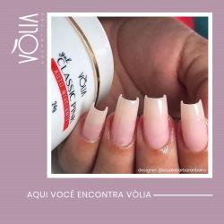 VÒLIA - Gel Classic Pink - 24g - NOVA FÓRMULA