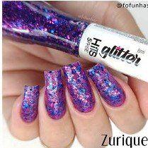 HITS - Esmalte Glitter 8ml - Zurique - LANÇAMENTO