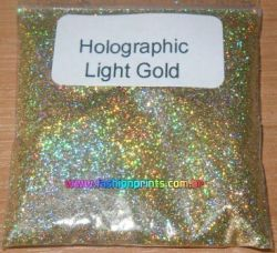 Glitter Holográfico Superfino .08 - 25g - Ouro